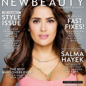 Сальма Хайек для New Beauty Magazine весна 2014 (Фото и Видео)