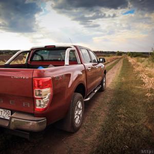 Тест драйв Ford Ranger.