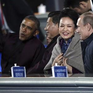 В Китае заблокировали видео с «ухаживанием» Путина за женой главы КНР