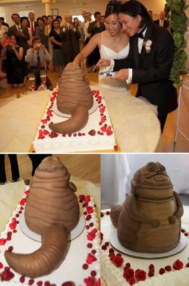 Дизайн торта на свадьбу