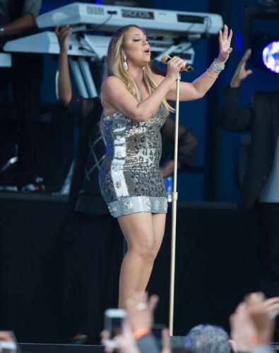 Mariah Carey at 'Jimmy Kimmel Live'