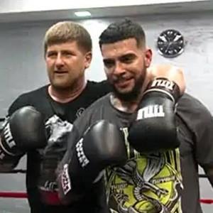 Кадыров и Тимати на боксерском ринге