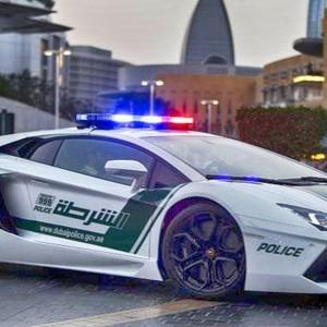 Полиция Дубая на самых роскошных машинах