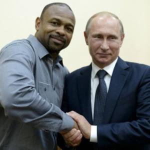 Боксер Рой Джонс встретился с Путин и попросил Российское гражданство