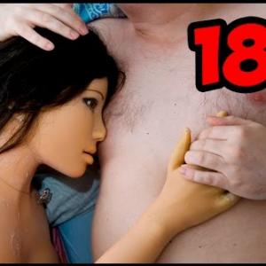 18+ УДИВИТЕЛЬНАЯ ЛЮБОВЬ СИЛИКОНОВОЙ КУКЛЫ И ЧЕЛОВЕКА О_о