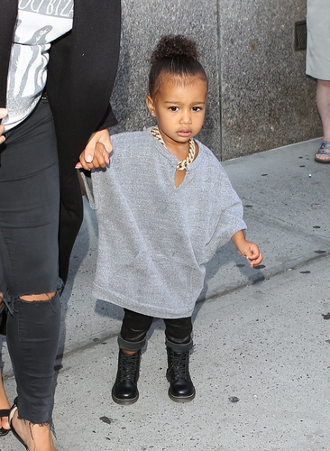 North West is adorably chic in NYC
