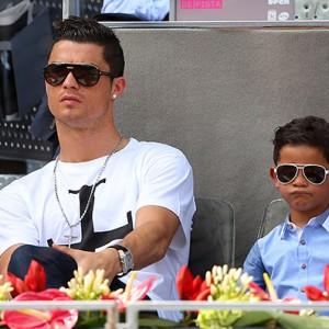 Криштиану Роналду-младший растет копией своего отца (Фото)