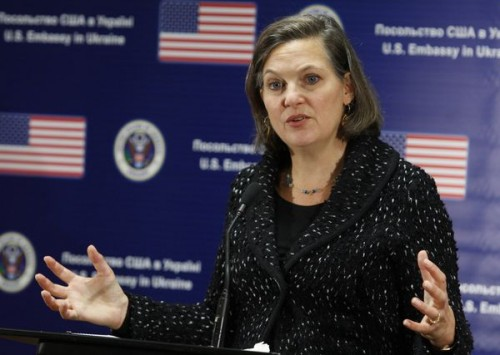 US Assistant Secretary of State gives press conference in Kiev