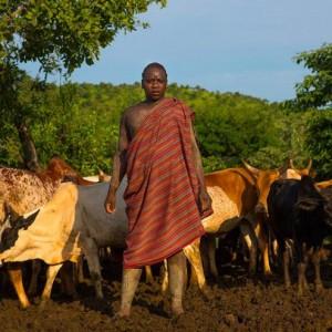Мужская красота по-эфиопски