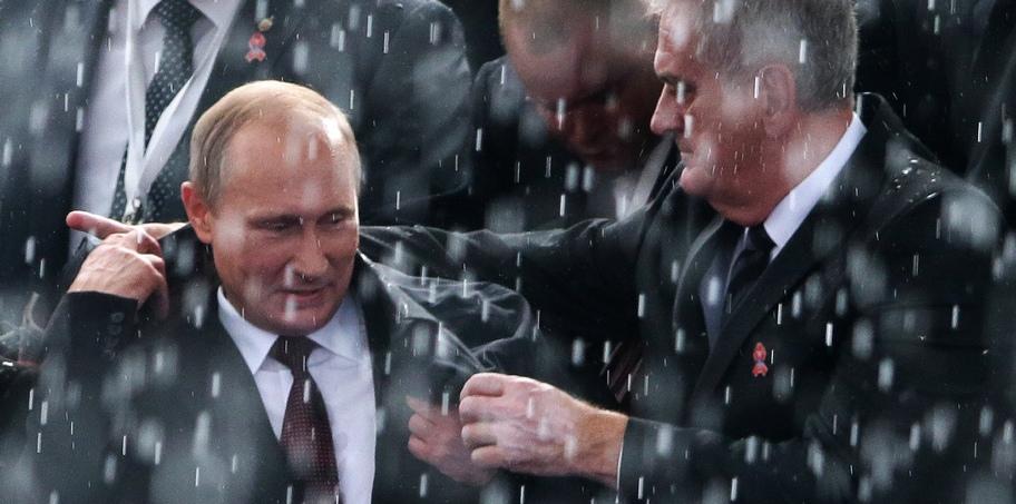 President Putin visits Serbia