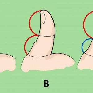 Вот что может рассказать о характере большой палец на руке