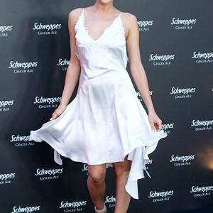 Ирина Шейк вышла в свет в ночной рубашке (Фото)